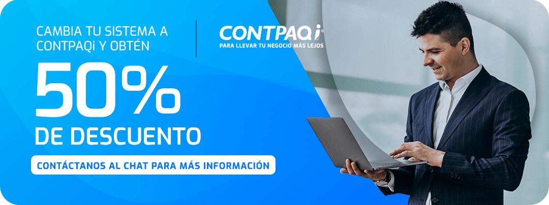 Distribuidor CONTPAQi Descuento 50%