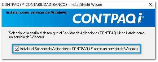Servidor de aplicaciones como inicio de windows